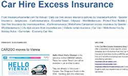 Car Hire Excess Waiver Insurance Usa