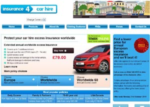 Insure And Go Car Hire Excess